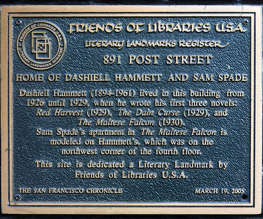 Dashiell Hammett's home