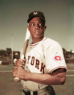 Willie Mays New York Giants