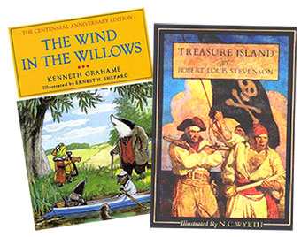 Wind in the Willows Treasure Island