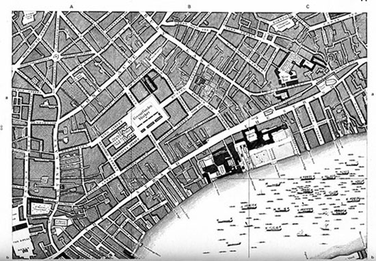 Rocque's Map of London