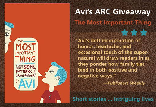 Avi's Book Giveaway