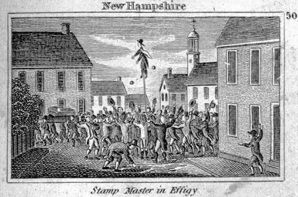 New Hampshire: Stamp Master in Effigy