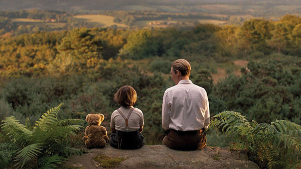 a scene from Goodbye Christopher Robin