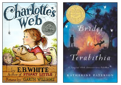 Charlotte's Web, Bridge to Terabithia