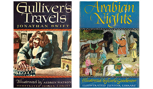 Gulliver's Travels Arabian Nights